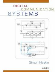 Digital Communication Systems 1st Edition 9781118476772 1118476778