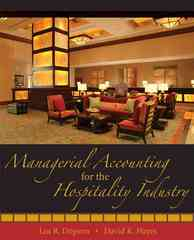 Managerial Accounting for the Hospitality Industry 1st Edition 9780471723370 0471723371