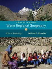 Understanding World Regional Geography 1st Edition 9780471735175 0471735175