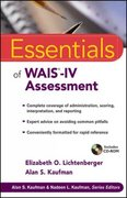 Essentials of WAIS-IV Assessment 1st Edition 9780471738466 0471738468