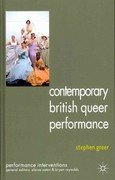 Contemporary British Queer Performance 1st Edition 9781137027337 1137027339