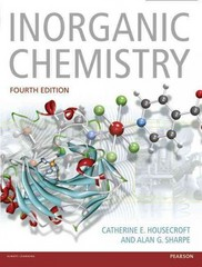 Inorganic Chemistry 4th Edition 9780273742753 0273742752