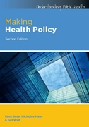 Making Health Policy 2nd Edition 9780335246342 0335246346
