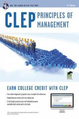 CLEP Principles of Management 2nd Edition 9780738610900 0738610909