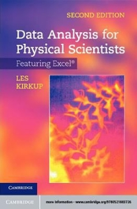 Data Analysis for Physical Scientists 2nd Edition 9781139153294 1139153293