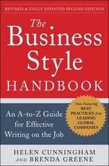 The Business Style Handbook, Second Edition:  An A-to-Z Guide for Effective Writing on the Job 2nd Edition 9780071800105 0071800107