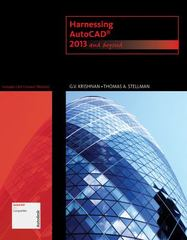 Harnessing AutoCAD 1st Edition 9781133946595 1133946593