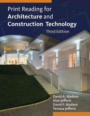 Print Reading for Architecture and Construction Technology (Book Only) 3rd edition 9781285075969 128507596X