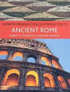 The British Museum Concise Introduction to Ancient Rome 1st Edition 9780472032457 0472032453