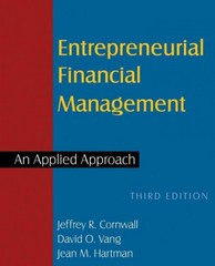 Entrepreneurial Financial Management 3rd Edition 9780765627261 0765627264