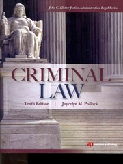 Criminal Law 1st edition 9781455730520 1455730521
