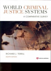 World Criminal Justice Systems 8th Edition 9781455725892 1455725897