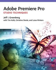 Adobe Premiere Pro Studio Techniques 1st Edition 9780321839978 0321839978