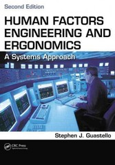 Human Factors Engineering and Ergonomics 2nd Edition 9781466560093 1466560096