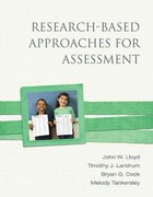 Research-Based Approaches for Assessment 1st edition 9780137034857 0137034857