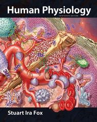 Human Physiology with Connect Plus 1st Edition 9780077774493 0077774493