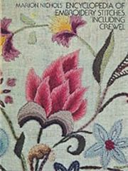 Encyclopedia of Embroidery Stitches, Including Crewel 0 9780486229294 0486229297