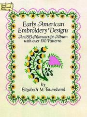 Early American Embroidery Designs 0 9780486249469 0486249468