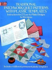 Traditional Patchwork Quilt Patterns with Plastic Templates 81st edition 9780486249841 0486249840