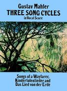 Three Song Cycles in Vocal Score 0 9780486269542 048626954X