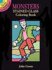 Monsters Stained Glass Coloring Book 0 9780486285313 0486285316
