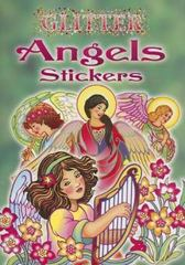 Glitter Angels Stickers 0 9780486444710 0486444716