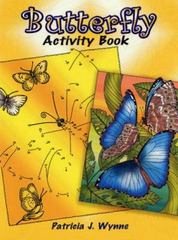 Butterfly Activity Book 0 9780486456928 0486456927