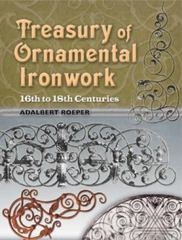 Treasury of Ornamental Ironwork 0 9780486460161 0486460169