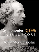 Symphonies Nos. 3, 4 and 5 in Full Score 0 9780486464152 0486464156