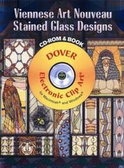 Viennese Art Nouveau Stained Glass Designs 0 9780486998817 0486998819