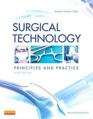 Surgical Technology 6th Edition 9781455725069 1455725064