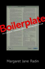 Boilerplate 1st Edition 9781400844838 1400844835