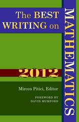 The Best Writing on Mathematics 2012 1st Edition 9780691156552 0691156557