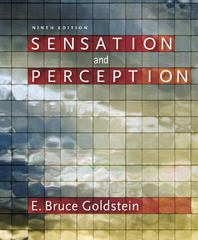 Sensation and Perception (with CourseMate Printed Access Card) 9th Edition 9781133958499 1133958494