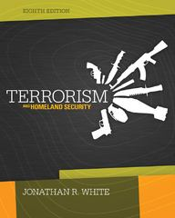 Terrorism and Homeland Security 8th edition 9781285061962 1285061969
