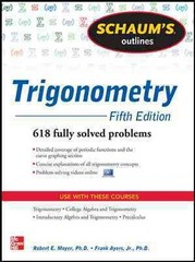 Schaum's Outline of Trigonometry, 5th Edition 5th Edition 9780071795357 0071795359