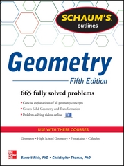 Schaum's Outline of Geometry, 5th Edition 5th Edition 9780071795401 0071795405