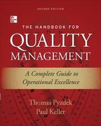 The Handbook for Quality Management, Second Edition 2nd Edition 9780071799249 0071799249