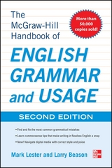 The McGraw-Hill Handbook of English Grammar and Usage 2nd Edition 9780071799904 0071799907