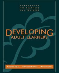 Developing Adult Learners 1st Edition 9781118436325 1118436326