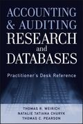 Accounting and Auditing Research and Databases 1st Edition 9781118334423 1118334426