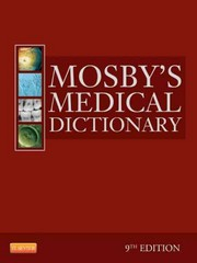 Mosby's Medical Dictionary 9th Edition 9780323085410 0323085415