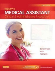 Today's Medical Assistant 2nd Edition 9781455701506 1455701505