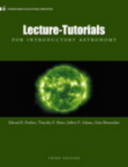 Lecture- Tutorials for Introductory Astronomy 3rd Edition 9780321820464 0321820460