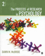 BUNDLE: McBride: The Process of Research in Psychology 2e + McBride: Lab Manual for Psychological Research 3e 2nd Edition 9781452255552 1452255555