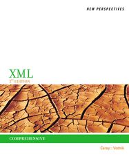 New Perspectives on XML, Comprehensive 3rd Edition 9781305175945 1305175948