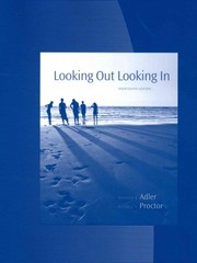 Student Activities Manual for Adler/Proctor II/Eckman's Looking Out, Looking In 14th Edition 9781285947976 1285947975
