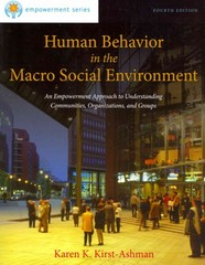 Brooks/Cole Empowerment Series: Human Behavior in the Macro Social Environment 4th Edition 9781285075495 1285075498