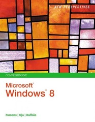 New Perspectives on Microsoft Windows 8, Comprehensive 1st Edition 9781285080871 1285080874