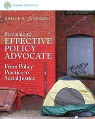 Brooks/Cole Empowerment Series: Becoming an Effective Policy Advocate 7th Edition 9781285531786 1285531787